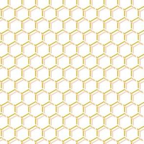 Honeycomb Honey House, Peach Gold White, Small