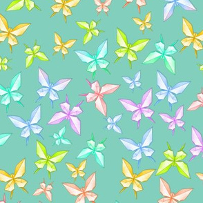 Paper Butterflies 2