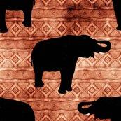 Rrrrrblack-elephants-orange-tribal-look-stripe_shop_thumb