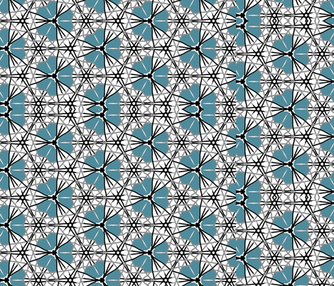 Forget Me Not fabric by happilyembellished on Spoonflower - custom fabric