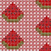 Rrrwatermelon-chickenscratch-gingham_shop_thumb
