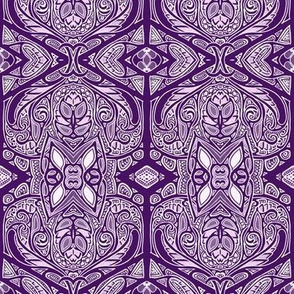 Brooding Purple