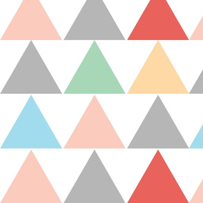 Pastel Triangles