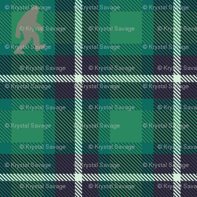 Rustic Bigfoot plaid