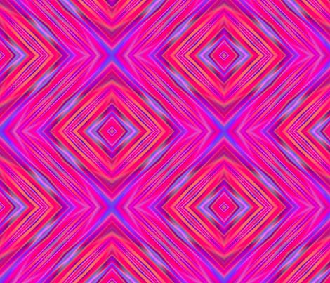 bright pink diamond pattern-01 fabric by dk_designs on Spoonflower - custom fabric