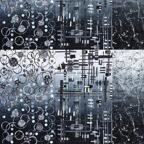 Cityscapes Midnight Pattern Mix
