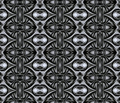 Nights In Black Satin fabric by whimzwhirled on Spoonflower - custom fabric