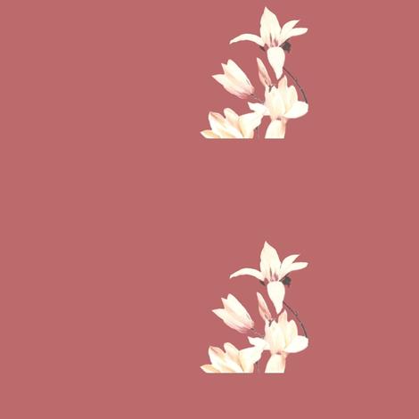 classy flowers fabric by angelheartdesigns on Spoonflower - custom fabric