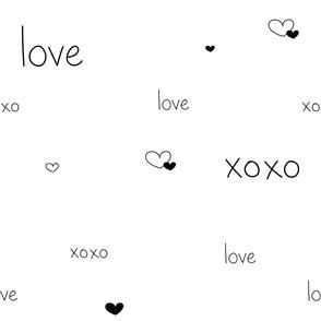 Love (White)