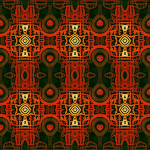 Batik Beauty - Blood Orange