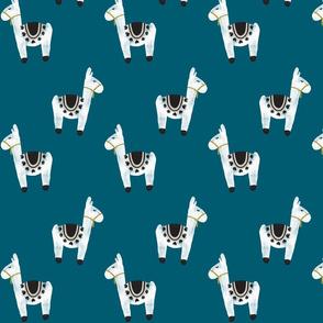 watercolor llamas // 120-16
