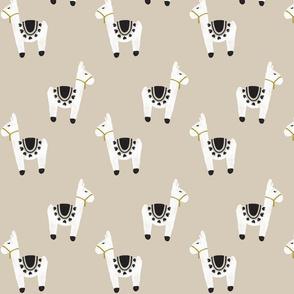 watercolor llamas // 13-2