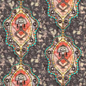 African batik venus