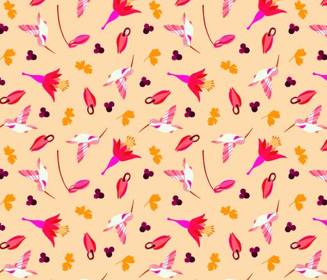 Columbine fabric by maria_rose_adams on Spoonflower - custom fabric