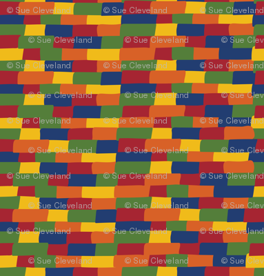 Kente building blocks