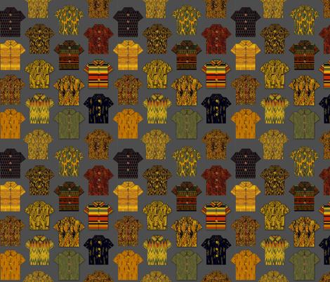 Origami Paper Hawaiian shirts by kedoki fabric by kedoki on Spoonflower - custom fabric