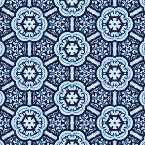 Oriental Blue Cherry Blossom