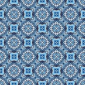 Turkish tiles in blue