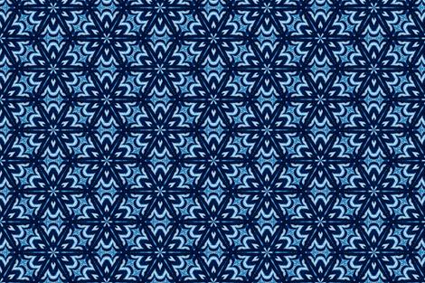 Blue Star Mosaic fabric by ruth_cadioli on Spoonflower - custom fabric