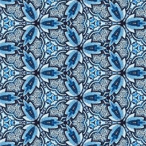 Blue Orchid Chinoiserie