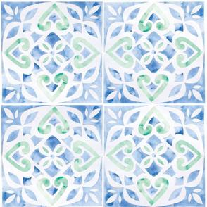 Spanish tiles 3