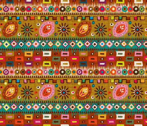 Niger colors fabric by leventetladiscorde on Spoonflower - custom fabric
