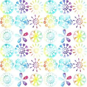 Rainbow Mandalas