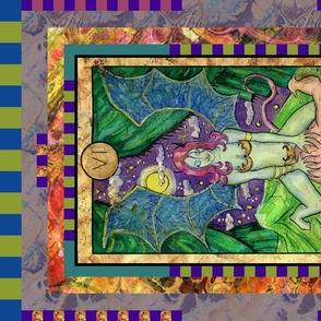 THE LOVERS SUCCUBUS TAROT CARD PANELMAJOR ARCANA