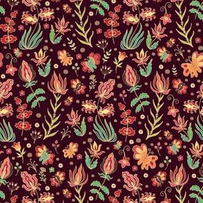 Indian floral