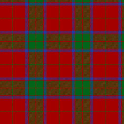 "Robertson tartan #4, 3"" fabric by weavingmajor on Spoonflower - custom fabric"