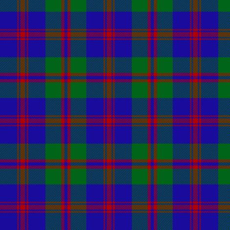 "Robertson of Struan tartan,1816, 3"" fabric by weavingmajor on Spoonflower - custom fabric"