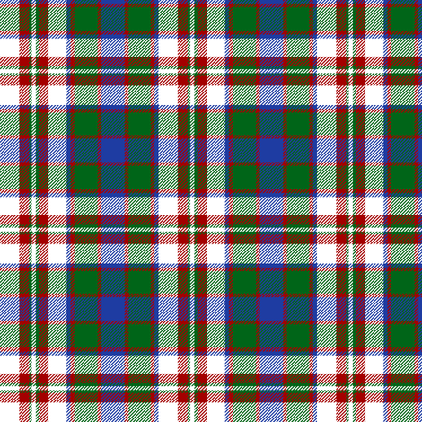 "Robertson dress tartan artefact, 3"" fabric by weavingmajor on Spoonflower - custom fabric"