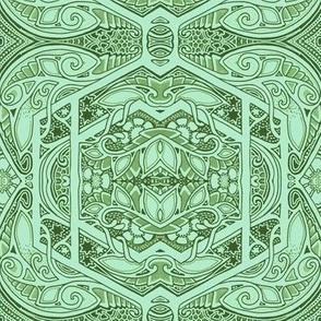 Mint Green Growing Theme
