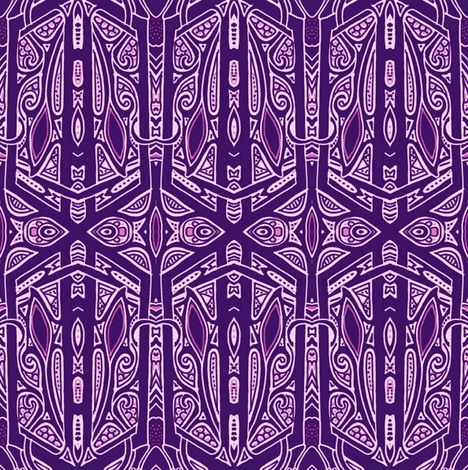 Some Gothic Morning fabric by edsel2084 on Spoonflower - custom fabric
