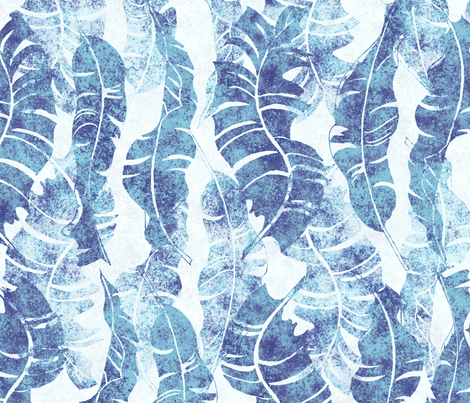 Conga Washed Indigo 150 fabric by kadyson on Spoonflower - custom fabric