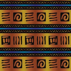 African Bold Tribal Markings
