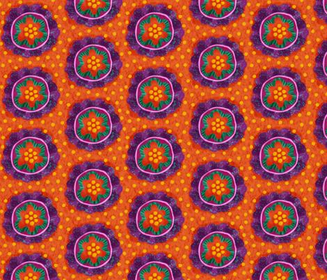 Geissorhiza - African beauty fabric by toy_joy on Spoonflower - custom fabric