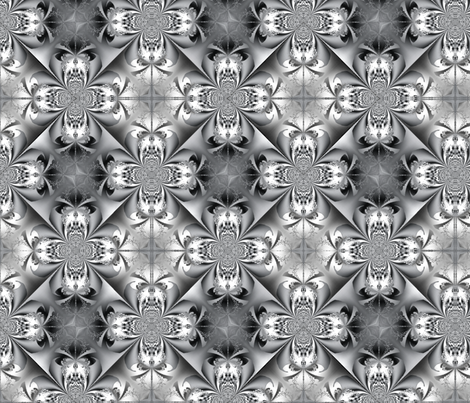 Fractal 391 fabric by anneostroff on Spoonflower - custom fabric