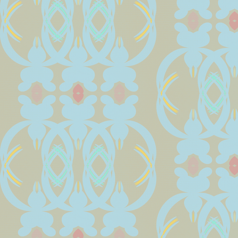 Rosemary Lane (Taupe) fabric by david_kent_collections on Spoonflower - custom fabric