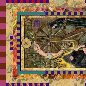 WHEEL OF FORTUNE INQUISITOR TAROT CARD PANEL MAJOR ARCANA