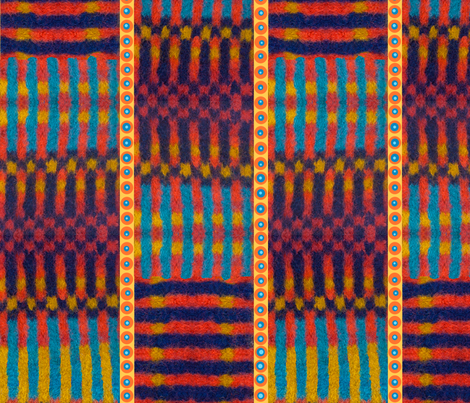 African print stripes checks circles  fabric by ej_molnar on Spoonflower - custom fabric