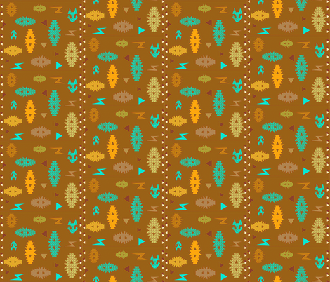 Kilim Me Softly fabric by gargoylesentry on Spoonflower - custom fabric