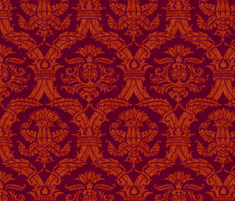 Ottoman Damask 2b fabric by muhlenkott on Spoonflower - custom fabric