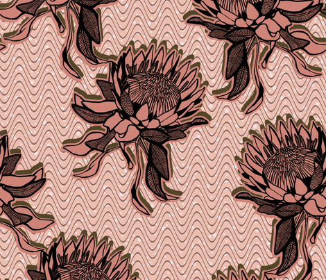 Nordic Wax fabric by lina_lissner on Spoonflower - custom fabric