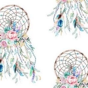 "4""X 6"" /  2018 mermaid dreamcatcher"