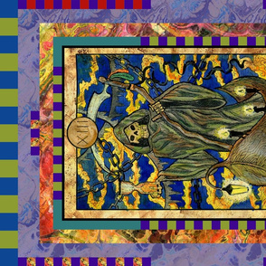 DEATH TAROT CARD PANEL MAJOR ARCANA