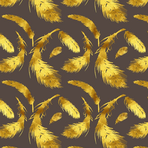 Smoked & Gold Feathered Flock