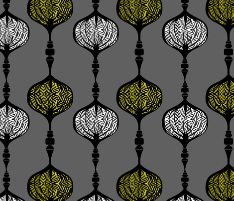 Opulent Flower Bomb fabric by complex_flavors_homelife on Spoonflower - custom fabric