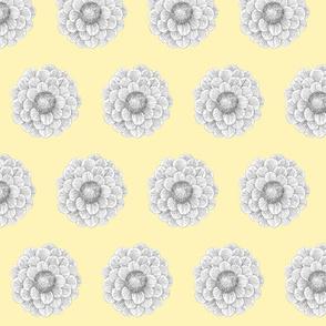 greyflower yellow background