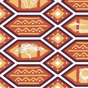 African Heat / Medium Scale
